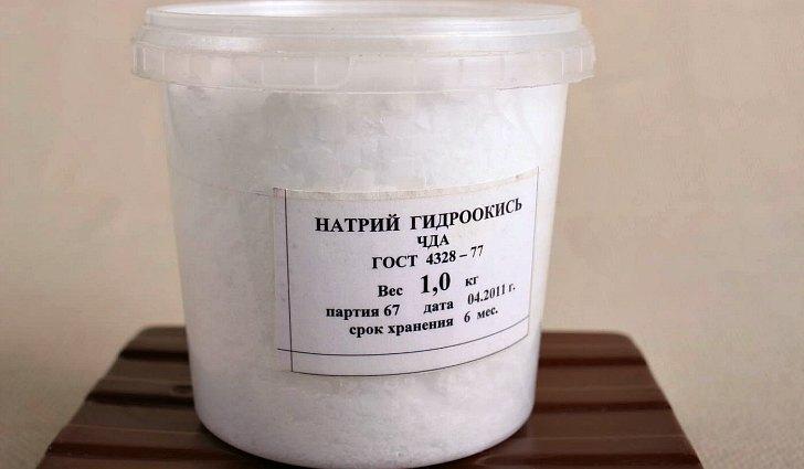 Натрий гидроокись