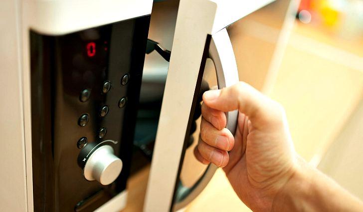 Идеально чистая микроволновая печь