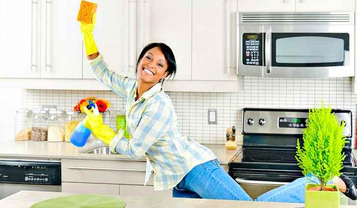 Чистота в квартире