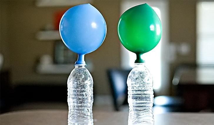 Надувание воздушного шарика