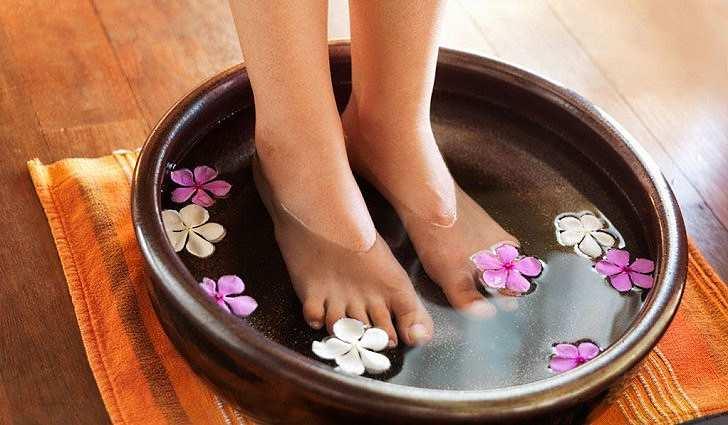 Содовая ванночка от инфекций на ногах
