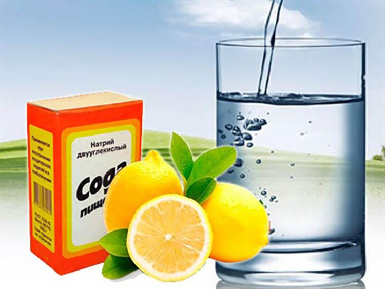 Содово-лимонный напиток