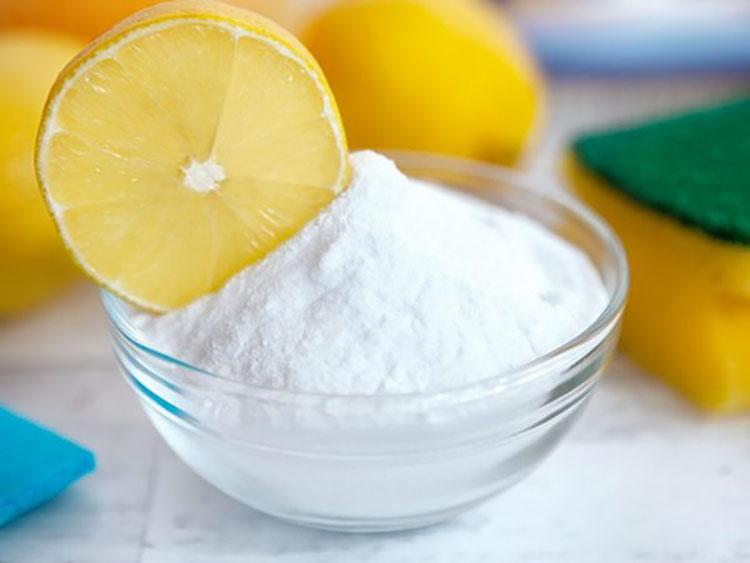 Напиток из лимона и бикарбоната натрия
