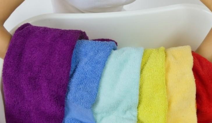 Отстирывание полотенец