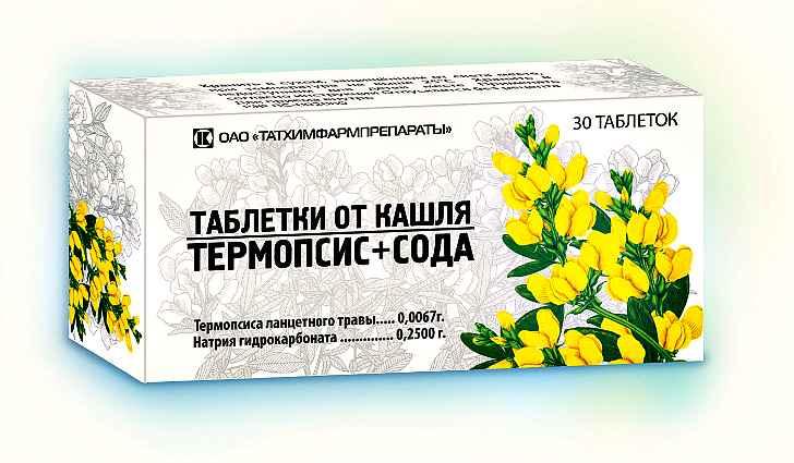 Лекарство термопсис