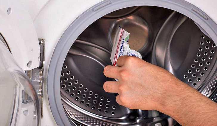 Очищение барабана стиральной машины
